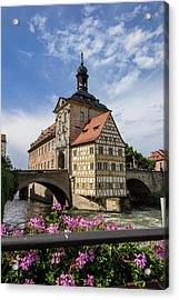 Europe, Germany, Bamberg, Altes Acrylic Print by Jim Engelbrecht