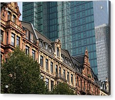 Europe Old And New Acrylic Print by David and Mandy