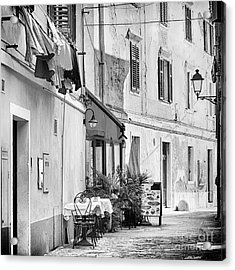 European Street Scene Acrylic Print