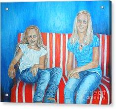 Eva And Antonia Acrylic Print
