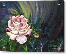 Acrylic Print featuring the painting Evangel Of Hope by Nancy Cupp