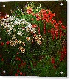 Evanston Garden Acrylic Print by Michael Durst