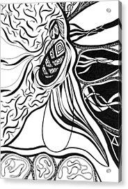 Eve Acrylic Print by Kerri White