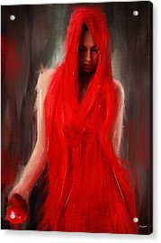 Eve Within Acrylic Print by Lourry Legarde