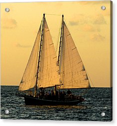 More Sails In Key West Acrylic Print