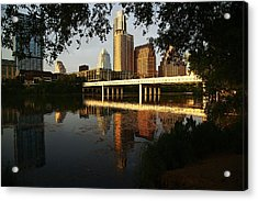 Evening Along The River Acrylic Print