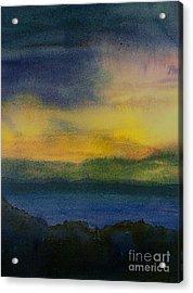 Evening Approaching 1 Acrylic Print by Gwen Nichols