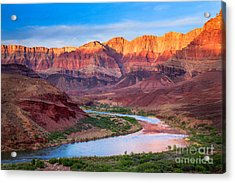 Evening At Cardenas Acrylic Print by Inge Johnsson