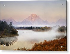 Evening At Oxbow Bend Acrylic Print