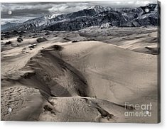 Evening At The Dunes Acrylic Print by Adam Jewell