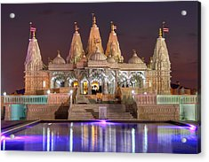 Evening At The Mandir Acrylic Print