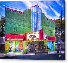 Evening At The Variety Playhouse - Atlanta Acrylic Print by Mark E Tisdale