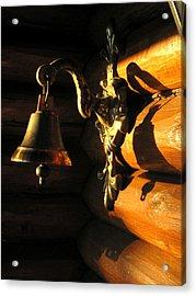 Acrylic Print featuring the photograph Evening Bell by Leena Pekkalainen