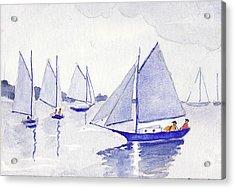 Evening Breeze Acrylic Print by Robert Parsons