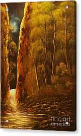 Evening Calm-original Sold-buy Giclee Print Nr 30 Of Limited Edition Of 40 Prints  Acrylic Print