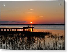 Evening Calm  Acrylic Print by James Lewis