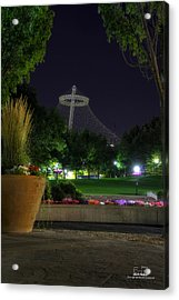 Evening Color And Majestry Acrylic Print by Dan Quam