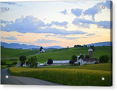 Evening Countryside #1 - Millmont Pa Acrylic Print