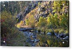 Evening Falls On Spring Creek Acrylic Print