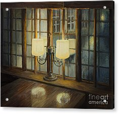 Evening For Two Acrylic Print by Kiril Stanchev