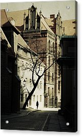 Evening In Wroclaw Acrylic Print by Cambion Art