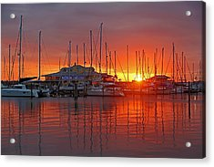 Acrylic Print featuring the photograph Evening Light by HH Photography of Florida