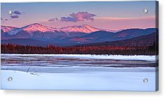Evening Light On The Presidential Range. Acrylic Print