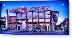 Evening Milwaukee Public Market Acrylic Print