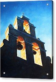 Evening Mission Acrylic Print by Scott Alcorn