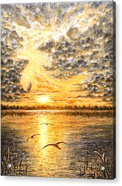 Evening Of The 5th Day Acrylic Print