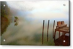Evening Acrylic Print by Eye Browses