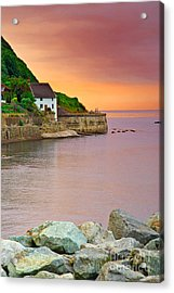 Evening Over Runswick Bay Acrylic Print