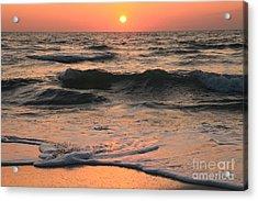 Evening Pastels Acrylic Print by Adam Jewell