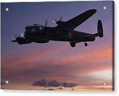 Evening Raider Acrylic Print