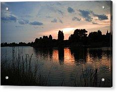 Evening Reflection Acrylic Print