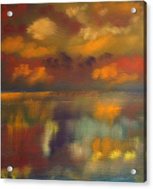 Evening Reflection Acrylic Print
