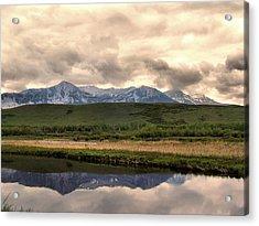 Evening Reflections Lake Maskinonge Acrylic Print