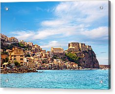Evening Scilla Castle Acrylic Print