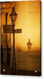 Evening Shadow In Jackson Square Acrylic Print