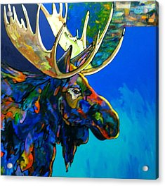 Acrylic Print featuring the painting Evening Shadows by Bob Coonts