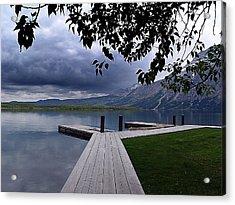 Evening Silence On Linnet Lake Acrylic Print