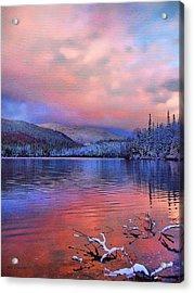 Evening Skies Acrylic Print by Tom Schmidt