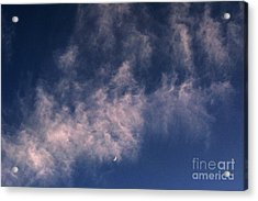 Evening Sky Acrylic Print by Kim Lessel