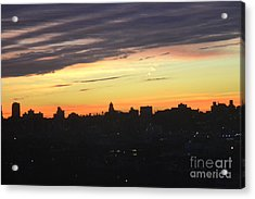 Evening Sky Acrylic Print by Robert Daniels