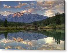 Evening Solitude At Cascade Ponds Acrylic Print