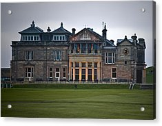 Acrylic Print featuring the photograph Evening St. Andrews by Sally Ross