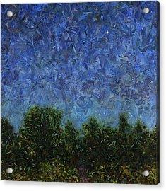 Evening Star - Square Acrylic Print