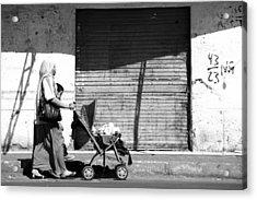 Evening Stroller  Acrylic Print by Jez C Self