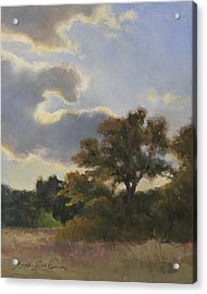 Evening Summer Clouds Acrylic Print