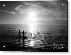 Evening Swim Acrylic Print